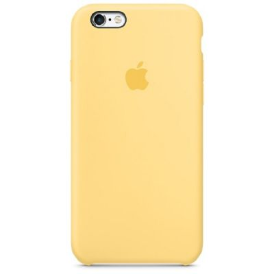 Чехол Apple iPhone 6/6s Silicone Case - Yellow MM662ZM/A