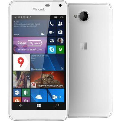 Смартфон Nokia Microsoft Lumia 650 Dual Sim White A00027271