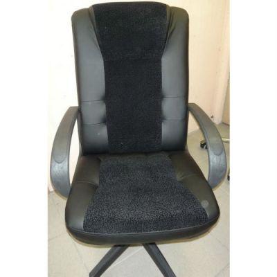 Офисное кресло Почин КР-15 черный матовый/флок