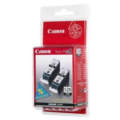 Картридж Canon PGI-520 bk twin Black/Черный (2932B012)
