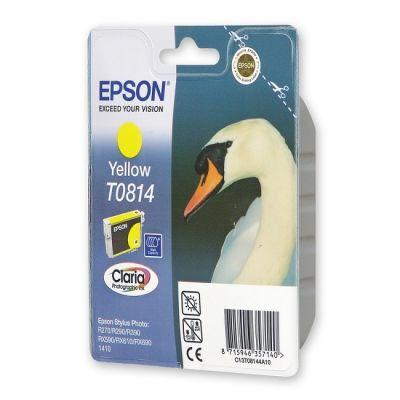 ��������� �������� Epson �������� Stylus Photo R270/290/RX590 yellow (������� �������) C13T11144A10