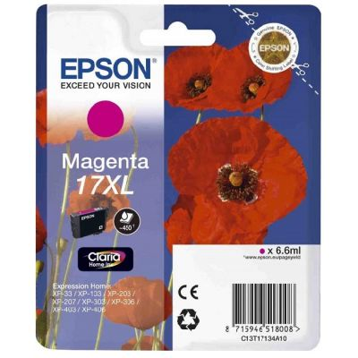 Картридж Epson 17XL Magenta/Пурпурный (C13T17134A10)