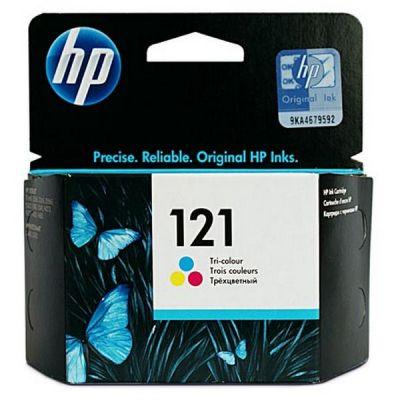 Картридж HP 121 Cyan / Magenta / Yellow - Зеленовато - голубой / Пурпурный / Желтый (CC643HE)