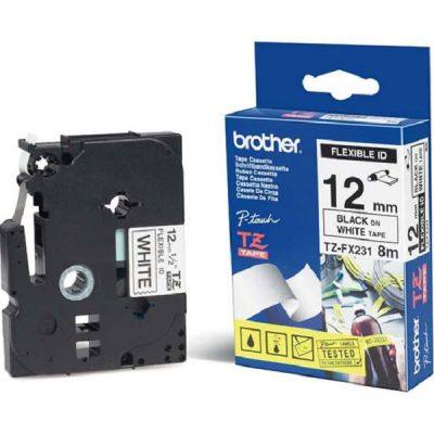 ��������� �������� Brother ������ ����� ��� �������������� ������������ ������� 12 �� (���� ����� �� ����� ����) TZ-FX231