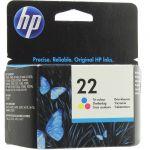 ��������� �������� HP 22 Tri-colour Inkjet Print Cartridge C9352AE
