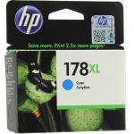 Картридж HP 178XL Cyan/Зеленовато-голубой (CB323HE)