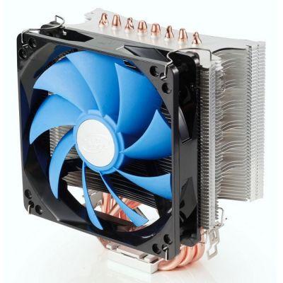 Кулер для процессора Deepcool ICE WIND PRO (4пин, 500-1500об / мин, 17.8-30 дБ, Al+теп.трубки) (DP-MCH4-IWP)