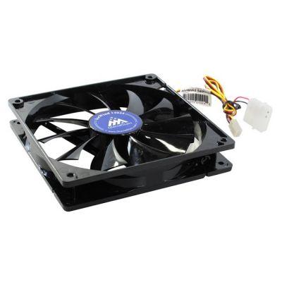 Вентилятор GlacialTech IceWind 14025 140x140x25 3pin+4pin (molex) 25dB 120g BULK CF-1425GSD0AB0001