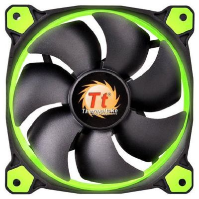 Вентилятор Thermaltake Riing 14 LED Green CL-F039-PL14GR-A