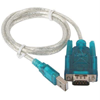 Кабель Orient адаптер USB AM <-> COM DB9M(RS232) USS-102 1.2 метра, крепление COM винты, ret