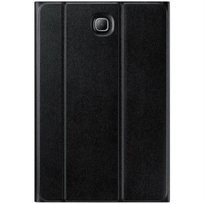 Чехол Samsung для планшета Galaxy Tab A SM-T35x Book Cover полиуретан/поликарбонат черный EF-BT355PBEGRU