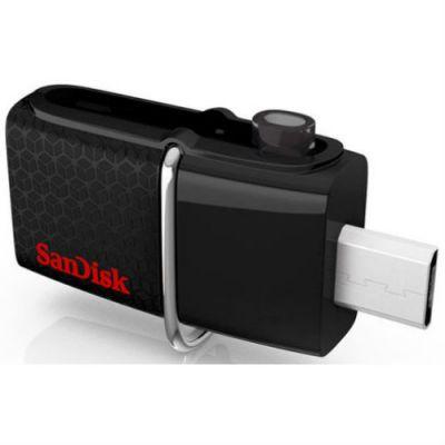 Флешка SanDisk Ultra Dual 16Гб SDDD2-016G-G46