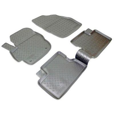 Norplast Коврики салона Mazda 3 2009-2012 с бортиками полиуретановые черные NPL-Po-55-06N