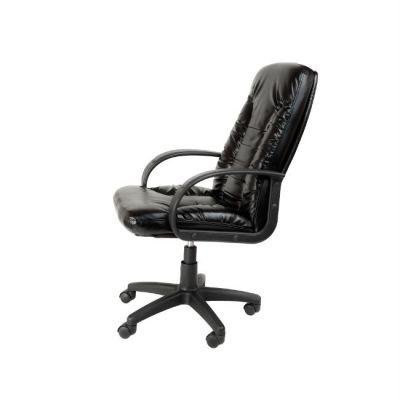 Офисное кресло Почин руководителя КР-10 (Бордовый, 3011) Коллекция Ecotex (матовые)