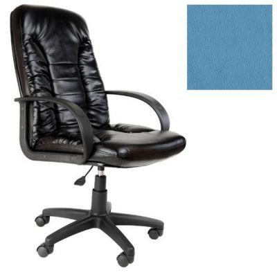 Офисное кресло Почин руководителя КР-10 (Светло-голубой, 3020) Коллекция Ecotex (матовые)