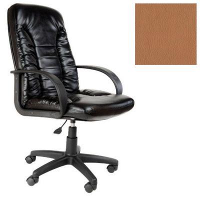 Офисное кресло Почин руководителя КР-10 (Светло-коричневый, 3026) Коллекция Ecotex (матовые)