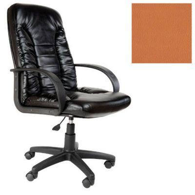 Офисное кресло Почин руководителя КР-10 (Оранжевый, 3032) Коллекция Ecotex (матовые)