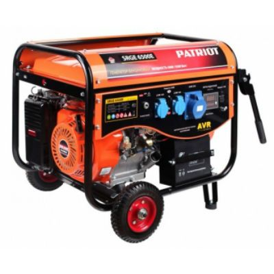 Генератор Patriot Max Power SRGE 6500E 5.5кВт 474103171