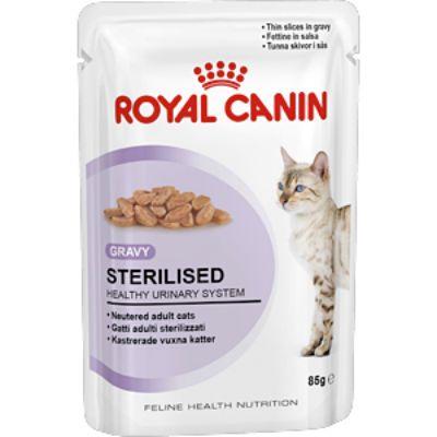 Паучи Royal Canin Sterilised для стерилизованных кошек в соусе 85г