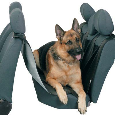 PSV Накидка на заднее сидение для собак черная NP-5008