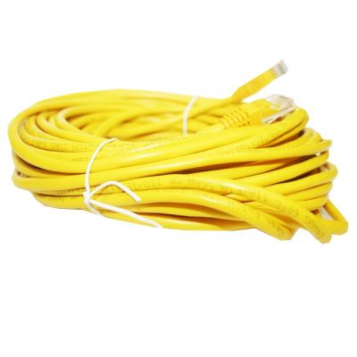 Кабель AOpen Patch cord (Патч-корд) литой UTP кат.5е 15м желтый (ANP511_15M_Y)