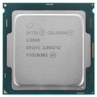 ��������� Intel Original Celeron G3900 Soc-1151 (2.8GHz/Intel HD Graphics 510) OEM (CM8066201928610S R2HV)