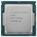 ��������� Intel Original Celeron G3900 Soc-1151 (2.8GHz/Intel HD Graphics 510) OEM (CM8066201928610S R2HV)