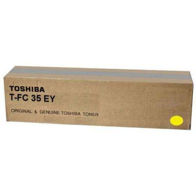 Тонер-картридж Toshiba T-FC35EY Yellow/Желтый (6AJ00000053)