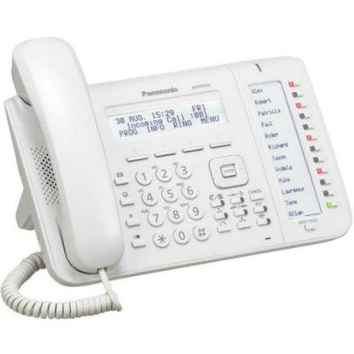 Телефон Panasonic IP KX-NT553 Белый KX-NT553RU