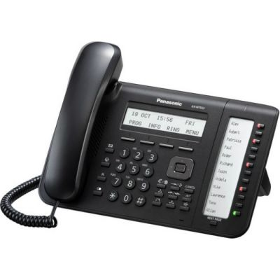 Телефон Panasonic IP KX-NT553 Черный KX-NT553RU-B