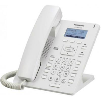 Телефон Panasonic IP KX-HDV130RU Белый без БП