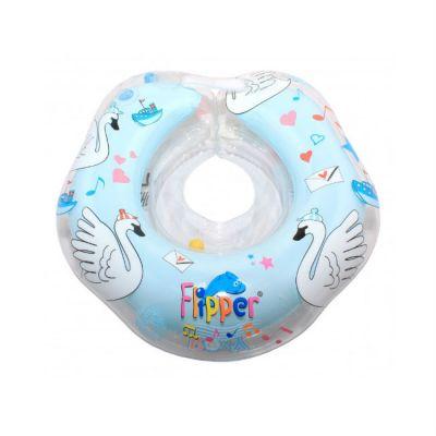 Круг для купания Roxy-Kids Flipper Swan Lake Мusic голубой