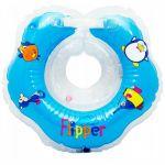 Круг для купания Roxy-Kids голубой FL001-B