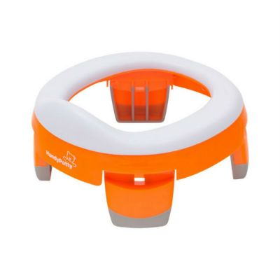 Горшок детский Roxy-Kids HandyPotty Дорожный оранжевый