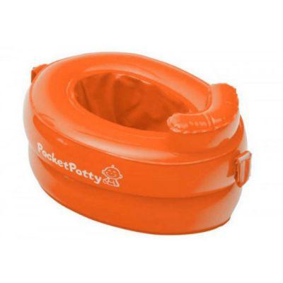 Горшок детский Roxy-Kids PocketPotty Дорожный оранжевый