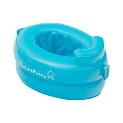 Горшок детский Roxy-Kids PocketPotty Дорожный голубой