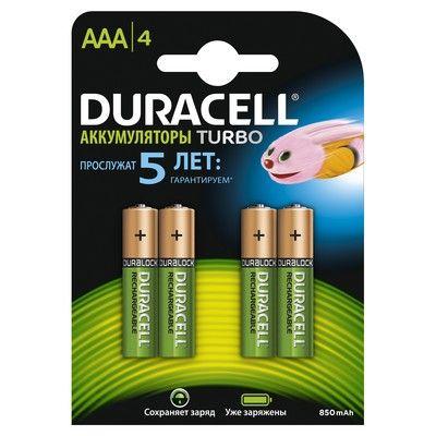 ����������� Duracell ��������� 850mAh HR03-4BL