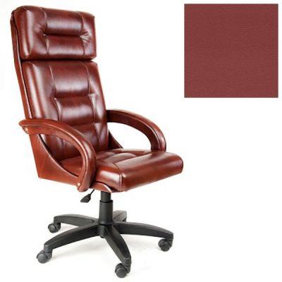 Офисное кресло Почин руководителя КР-7 (Бордовый, 3011) Коллекция Ecotex (матовые)