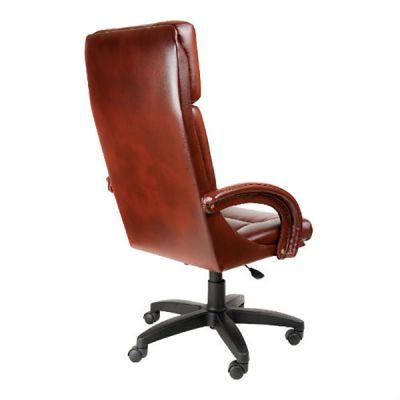 Офисное кресло Почин руководителя КР-7 (Красный, 3021) Коллекция Ecotex (матовые)