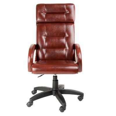 Офисное кресло Почин руководителя КР-7 (Светло-коричневый, 3026) Коллекция Ecotex (матовые)