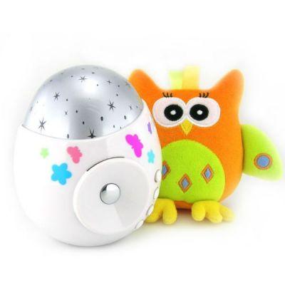 "Игрушка Roxy-Kids проектор звездного неба ""COLIBRI"" с совой"