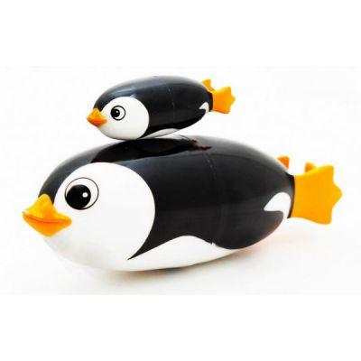 Игрушка Roxy-Kids для ванной TurboFish Subbies Пингвин Санни с детенышем