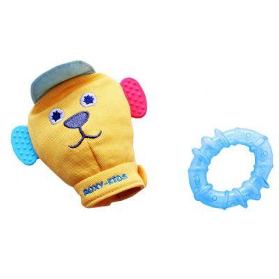 Игрушка Roxy-Kids рукавичка со съемным прорезывателем Вуффи