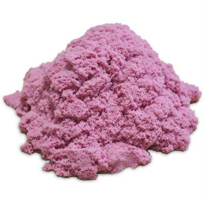 Космический песок пластичный, стандартный комплект розовый 1 кг.