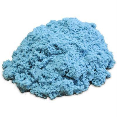 Космический песок пластичный, стандартный комплект голубой 1 кг.