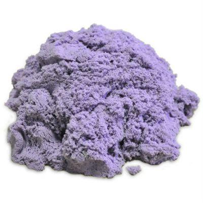 Космический песок пластичный, стандартный комплект сиреневый 1 кг.