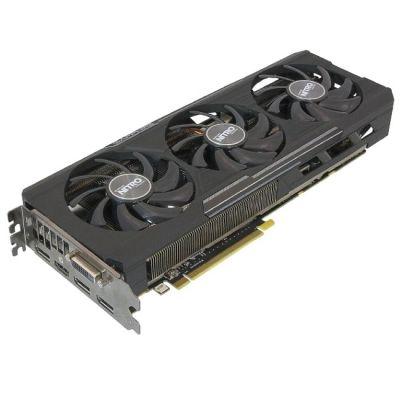 ���������� Sapfire AMD Radeon, R9 390, PCI-E, 8192��, GDDR5, DVI, HDMI, 3xDP, 512-���, OverClock Edition, Retail 11244-02-20G