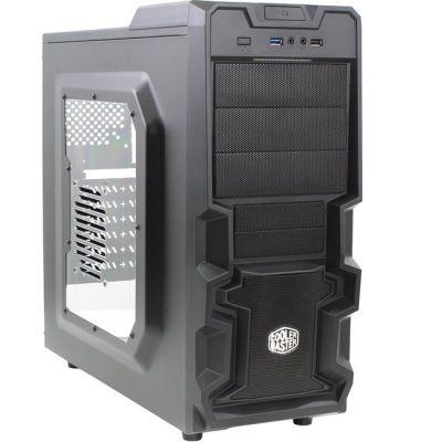 Корпус Cooler Master K380 Black ATX без БП, с окном RC-K380-KWN1