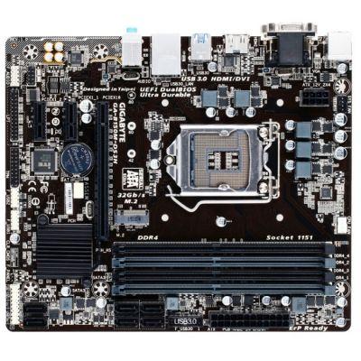 ����������� ����� Gigabyte B150 S1151 microATX GA-B150M-DS3H