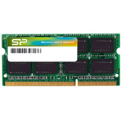 Оперативная память Silicon Power DDR3L 1600 (PC 12800) SODIMM 204 pin, 1x4 Гб, 1.35 В, CL 11 SP004GLSTU160N02